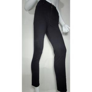 FRAME Denim Le High Skinny Film Noir Jeans